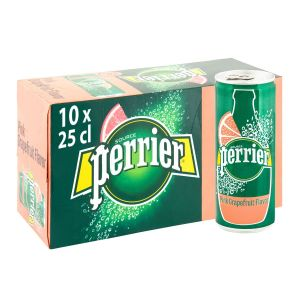 Perrier 25 cl Can Grapefruit