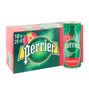 Perrier 25 cl Can Strawberry